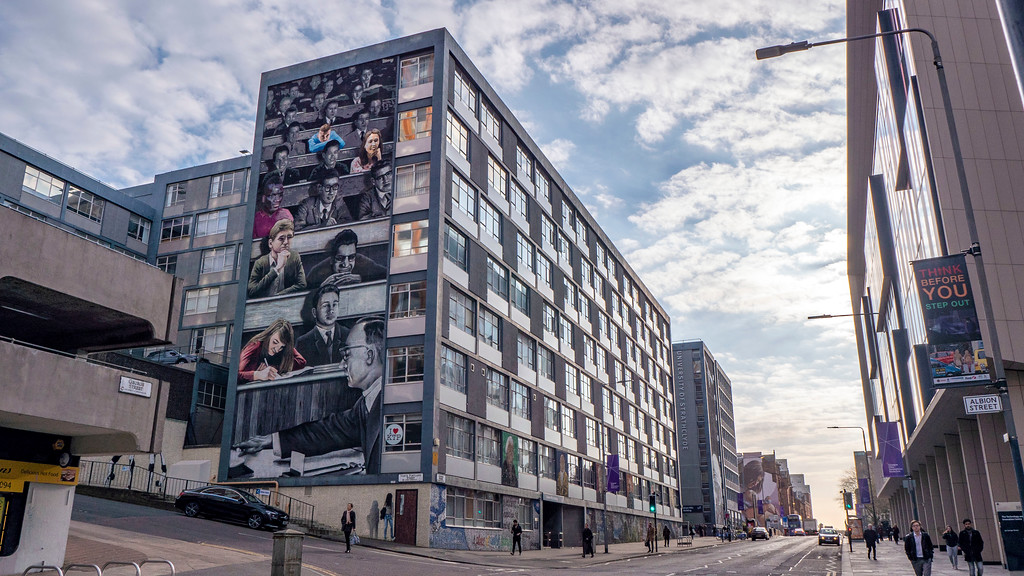 Glasgow Mural Trail: Strathclyde University