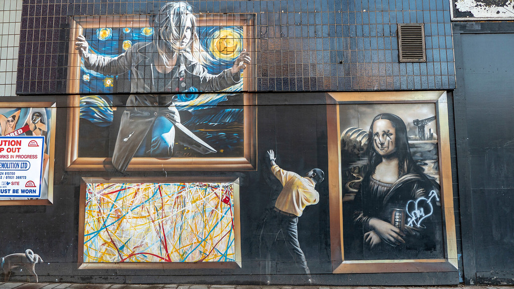 Street Art in Glasgow: The Gallery