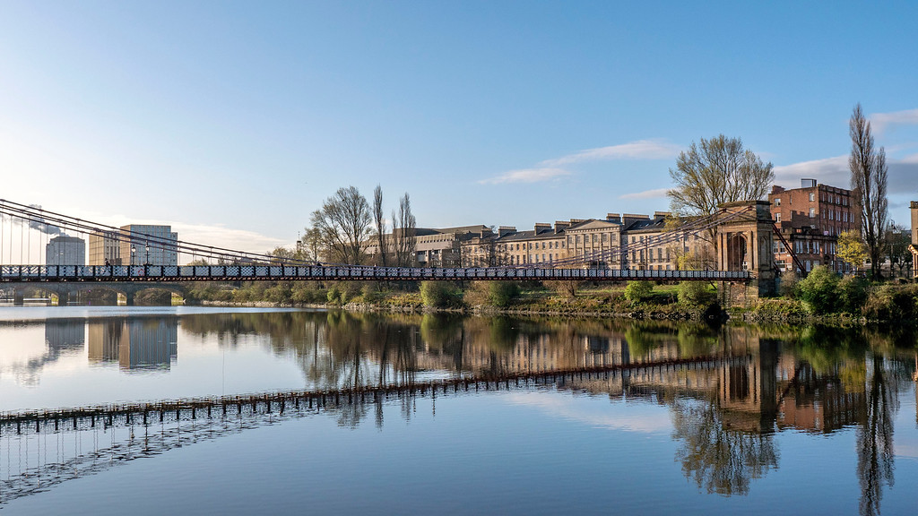 One Day in Glasgow Itinerary: Walk by the River Clyde
