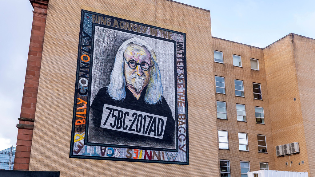 Glasgow Graffiti: Billy Connolly