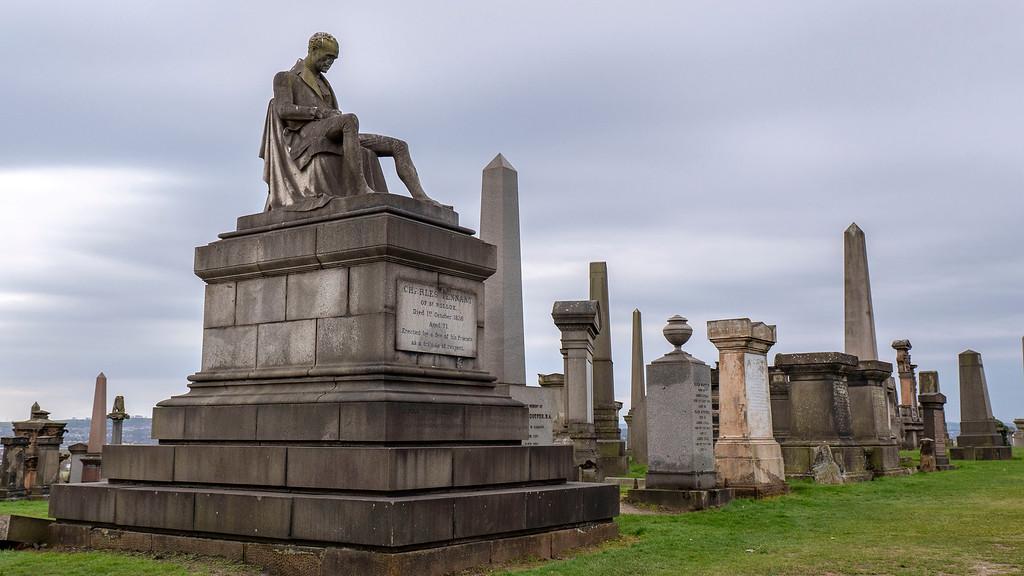 One Day in Glasgow Itinerary: Glasgow Necropolis