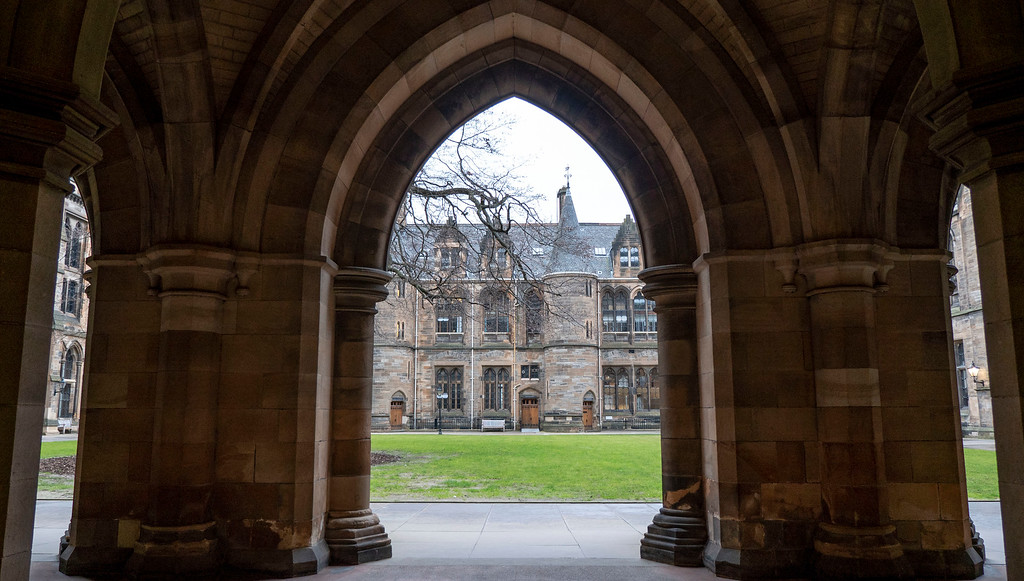 Glasgow Attractions to See in 24 Hours: The Cloisters at University of Glasgow
