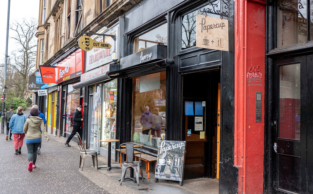 Glasgow Vegan: Papercup Coffee Company