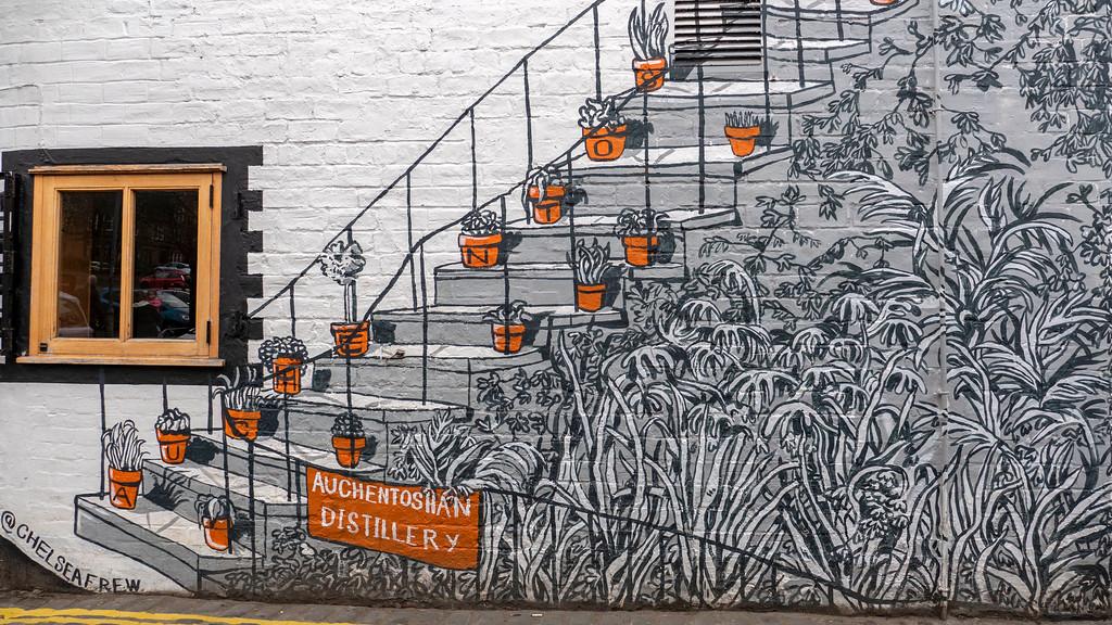 Glasgow Murals - Auchentoshan Distillery
