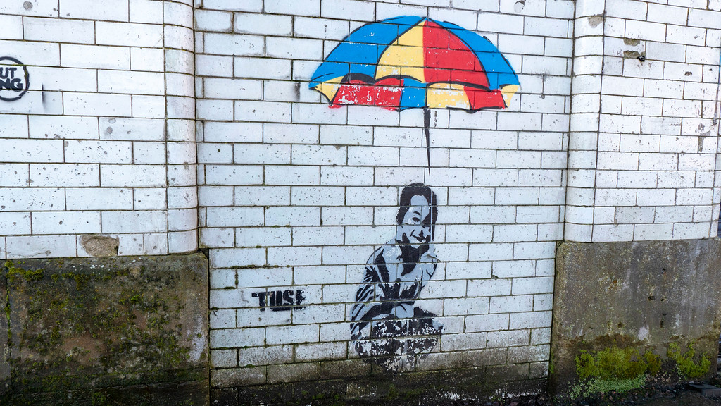 Street Art in Glasgow: Fuse