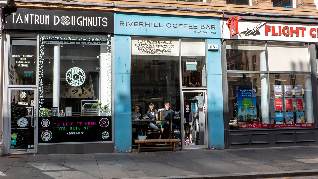 Glasgow Vegan: Riverhill Coffee Bar