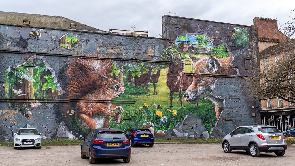 Glasgow Mural Trail: Fellow Glasgow Residents