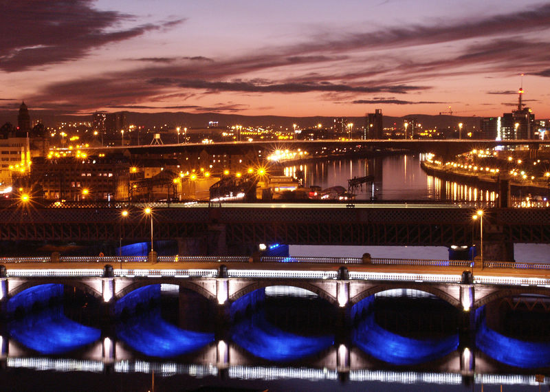Clyde Nightscape