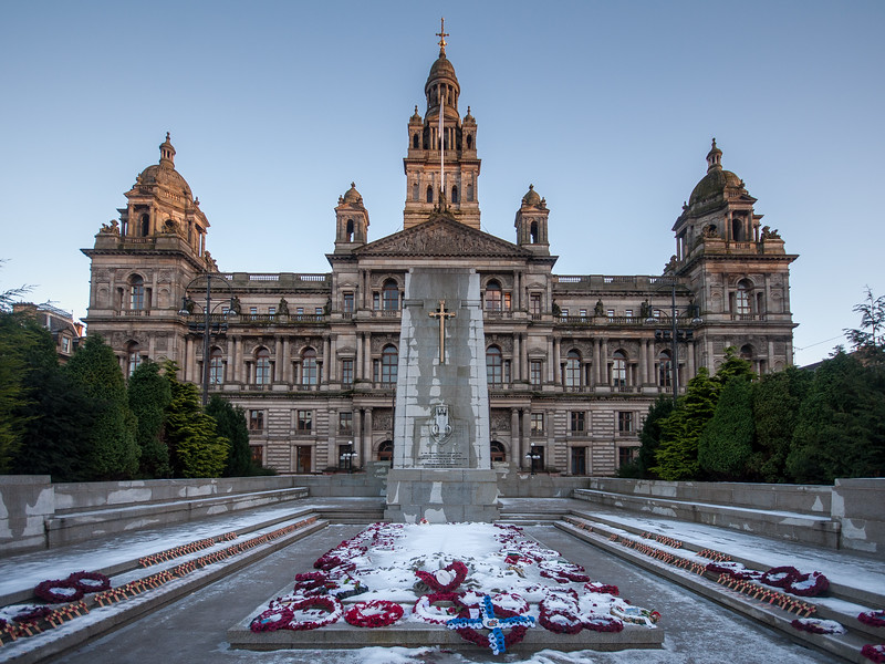 Glasgow City Chambers in George Square