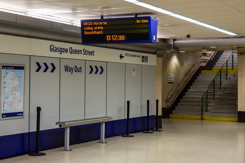 Glasgow Queen Street Low Level station