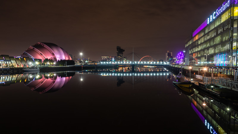 River Clyde at Finnieston in Glasgow