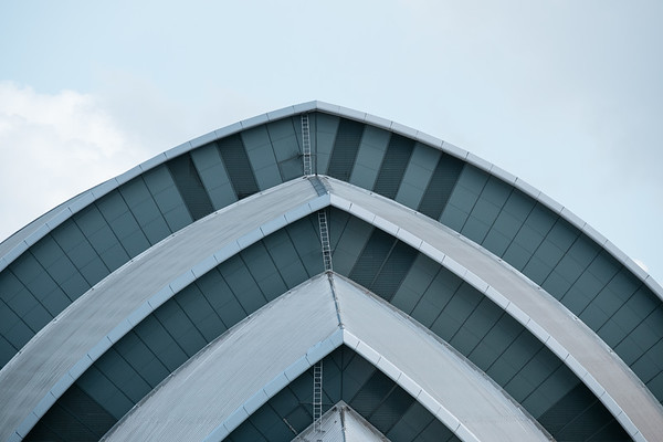 Detail of the SEC Armadillo Glasgow