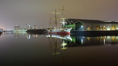 Riverside Museum in Glasgow