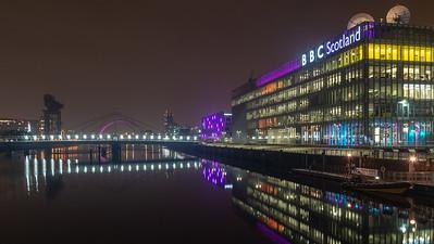 BBC Scotland studios in Glasgow