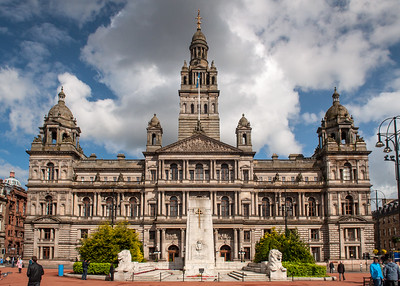 Glasgow City Chambers and Cenotaph