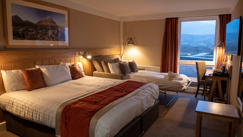 The Kingshouse Hotel in Glencoe Scotland - Our Room
