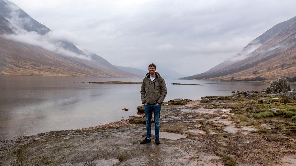 Glencoe, Scotland. How we afford to travel.