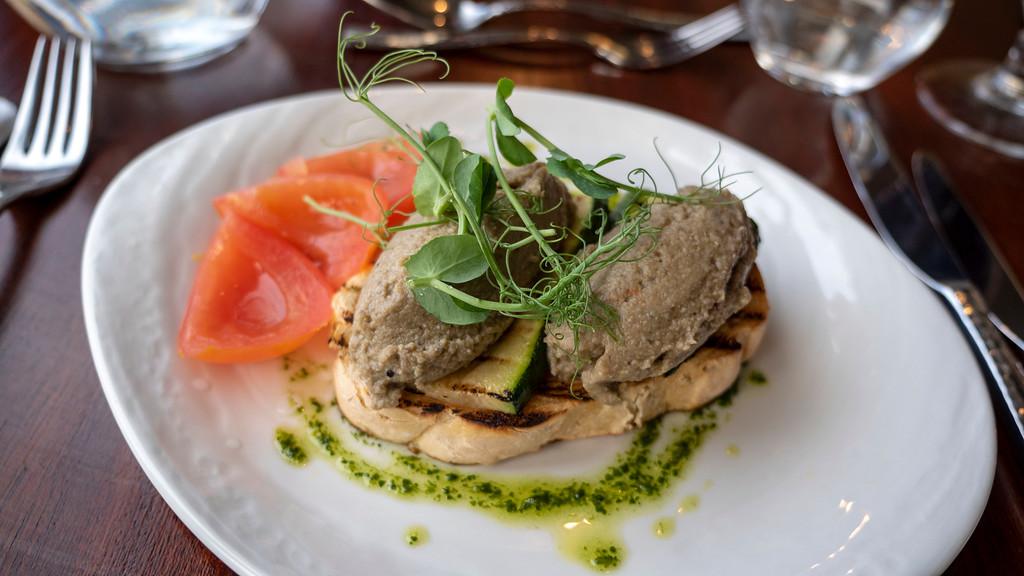 Ballachulish Hotel - Vegan Meal at Restaurant
