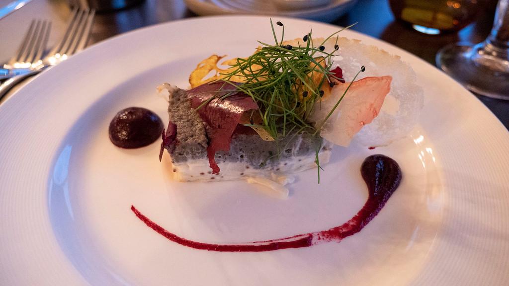 The Kingshouse Hotel in Glencoe Scotland - Vegan Meal at the Restaurant