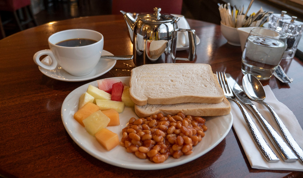Ballachulish Hotel - Vegan breakfast from the buffet
