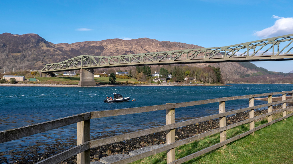 Ballachulish Hotel in Glencoe Scotland - Ballachulish Bridge