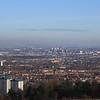 Paisley, Renfrew, Yoker, Whiteinch and Glasgow as seen from Glennifer Braes in Paisley.