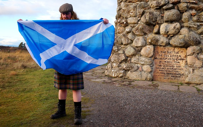 A moving history lesson in the Culloden Battlefield, Scotland