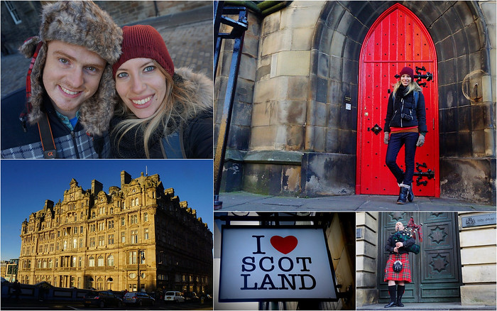 Sightseeing around Edinburgh before visiting the Scottish Highlands