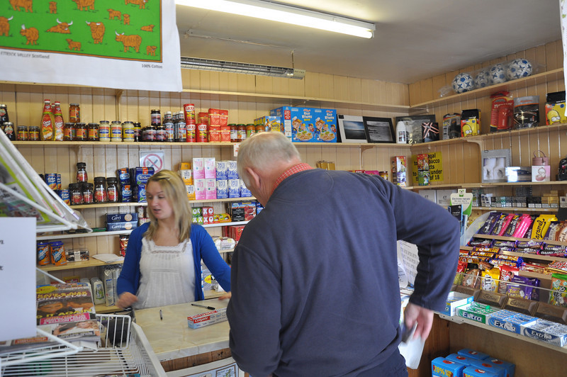 Port Askaig village shop the way it used to be and still is today. Fiona would be proud of our purchase