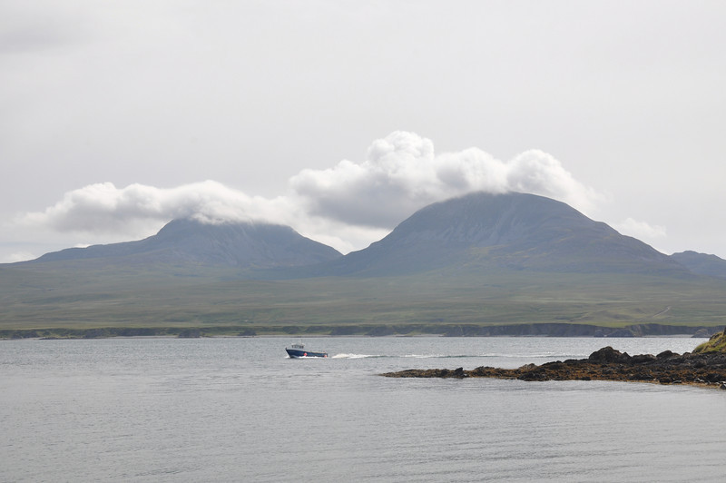 We can see the Paps of Jura today!