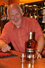 Andy Wilson behind the Jura Hotel bar again after 30 years