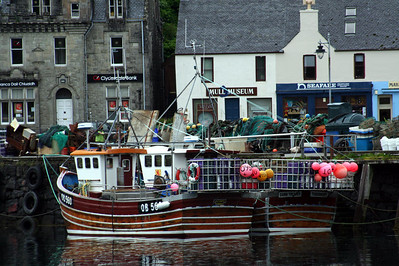20100608 - 17 Fishing boats in Tobermory middle pier - IMG_2751