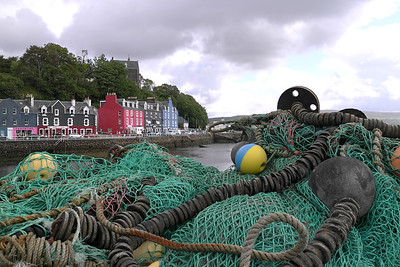 Tobermory photographed on Sunday August 14, 2011 the day Fred. Olsen Lines'  BALMORAL visited the Island of Mull.