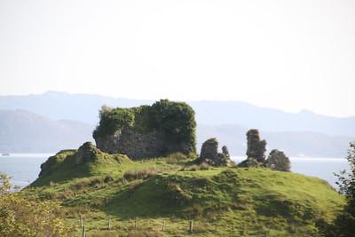 Knock Castle 17 September 2020