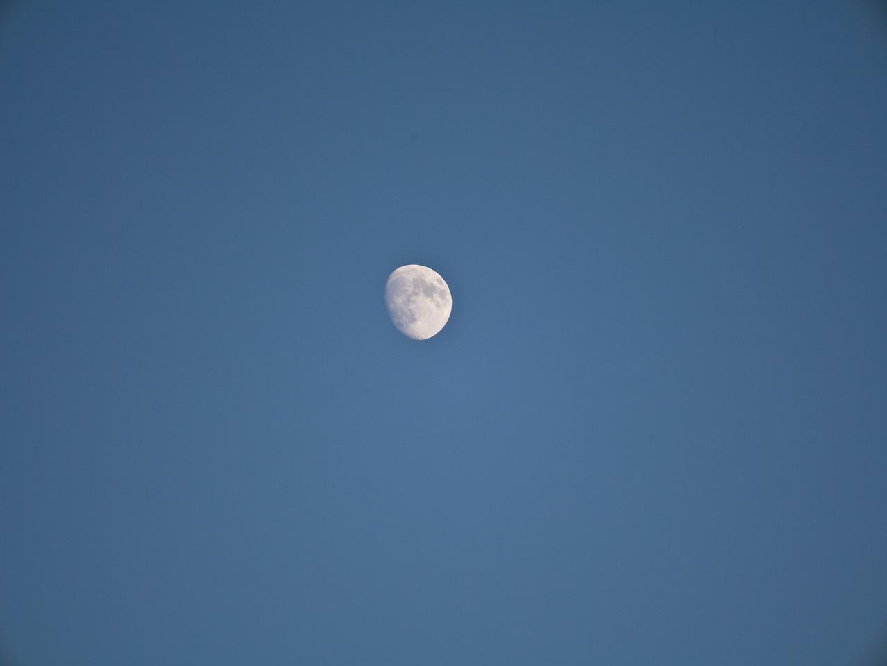 The moon at 175mm maximum zoom.