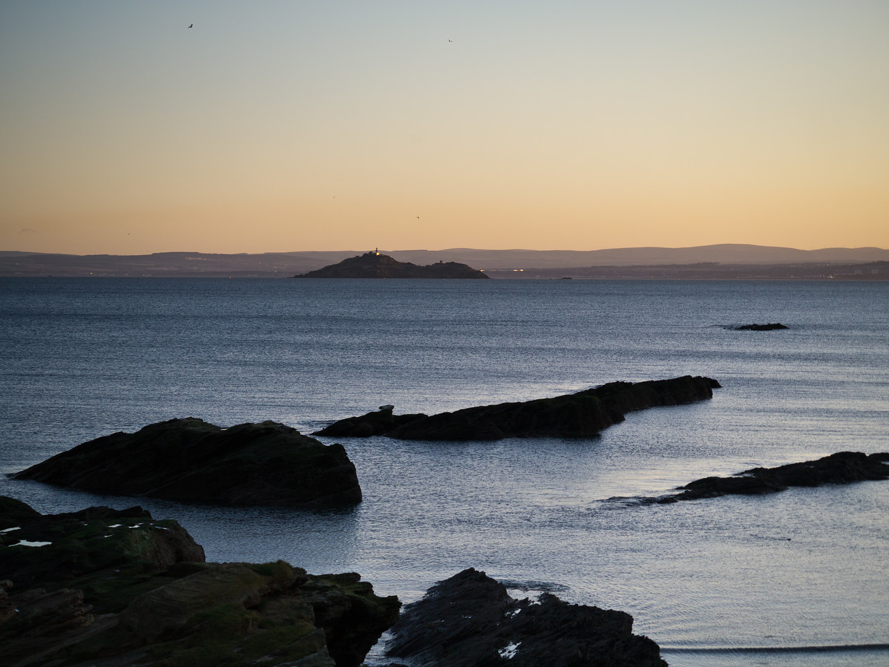 Looking at the Island of Inchkeith