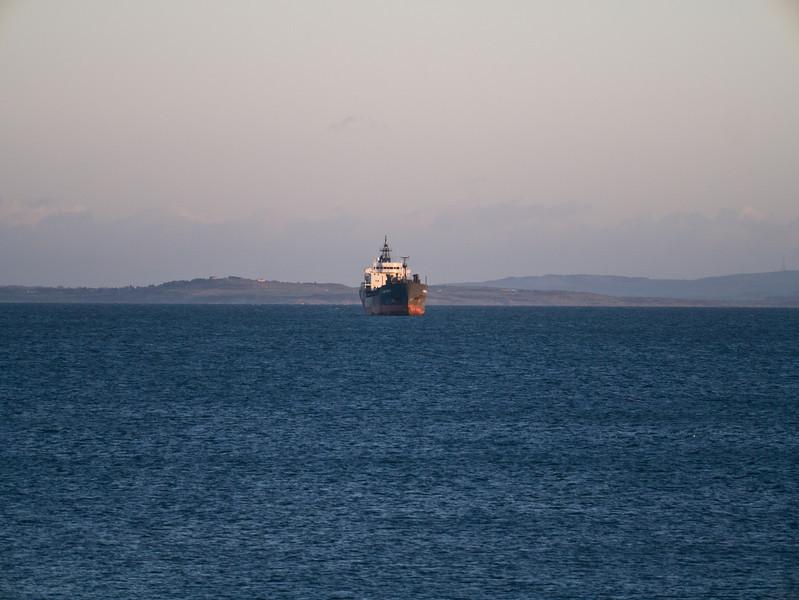 Boat at full zoom