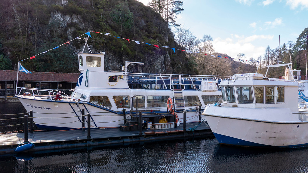 Lady of the Lake - Cruise boat at Loch Katrine, Scotland