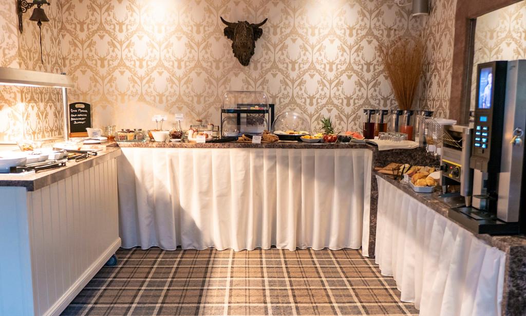 Abbotsford Lodge: Continental Breakfast Buffet