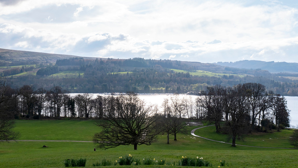 Loch Lomond day trip to Balloch Castle and Country Park, a registered historic landscape