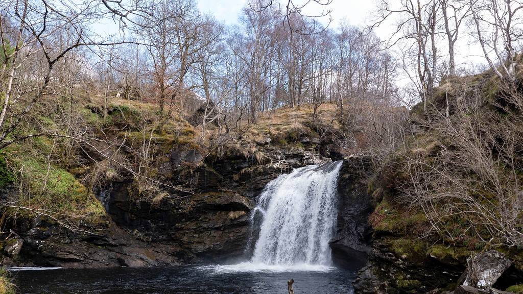 Loch Lomond day trip - the Falls of Falloch - waterfalls in Scotland