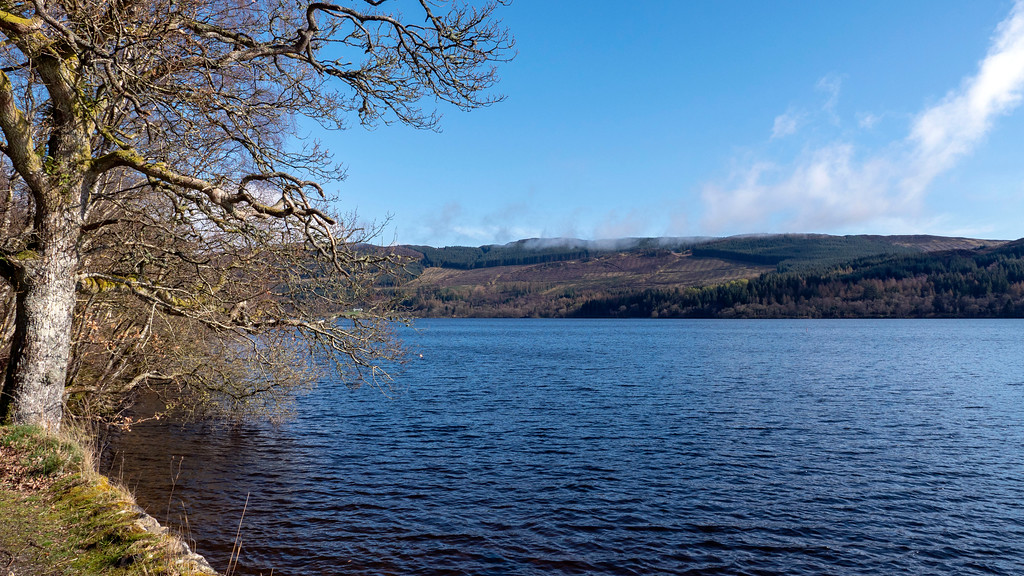 Loch Venachar at Loch Lomond and the Trossachs National Park