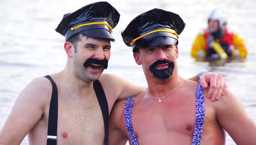 The Village people showed up for the Loony Dook!