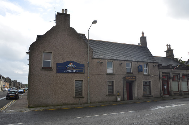 Comm Bar, Thurso. So much old Scottish architecture clearly inspires the next generation of architects