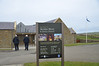 Arriving at Skara Brae. This Visitors' Centre wasn't here the last time Ian visited Skara Brae