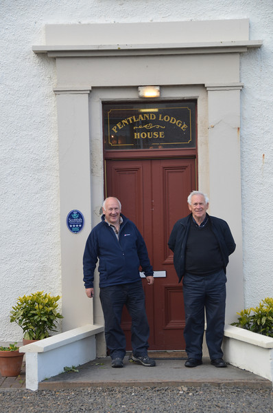 Pentland Lodge, Thurso. We're here for one night before catching the Orkney ferry from Scrabster