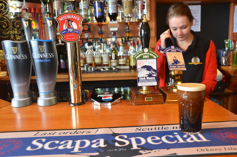 Scapa Special from Orkney now ranks amongst Ian's top real ales. Timothy Taylor Landlord, Fuller's London Pride, Shepherd Neame Spitfire & St Austell Tribute are all on the list