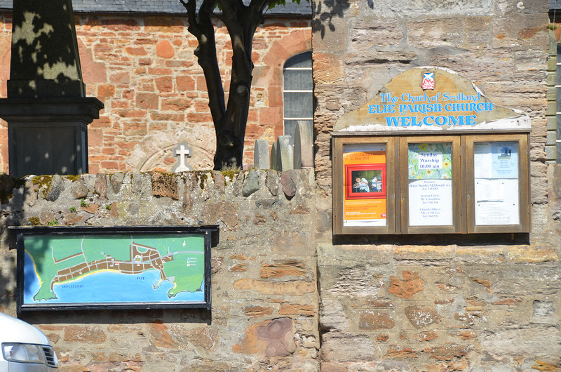 Elie, Fife where we meet up with the enlarged Wilson Clan