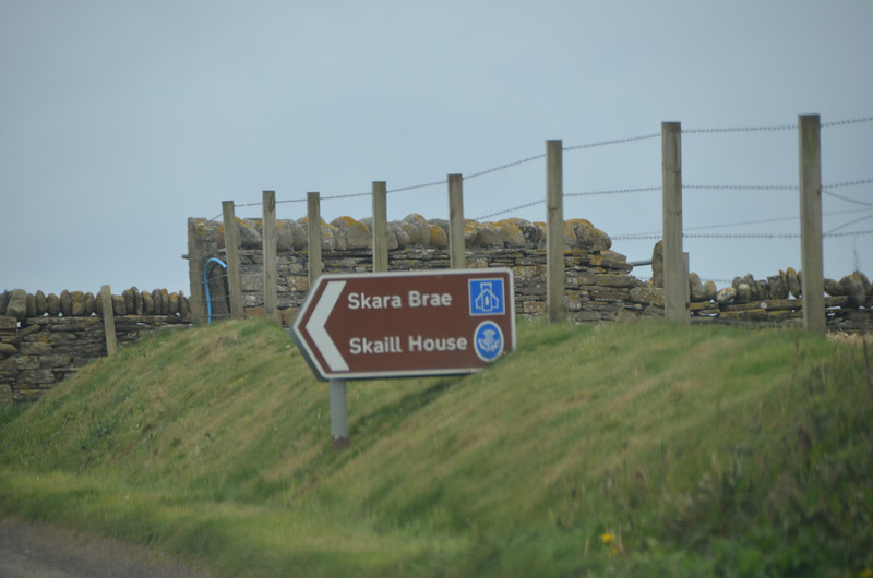 First stop on Orkney - Skara Brae