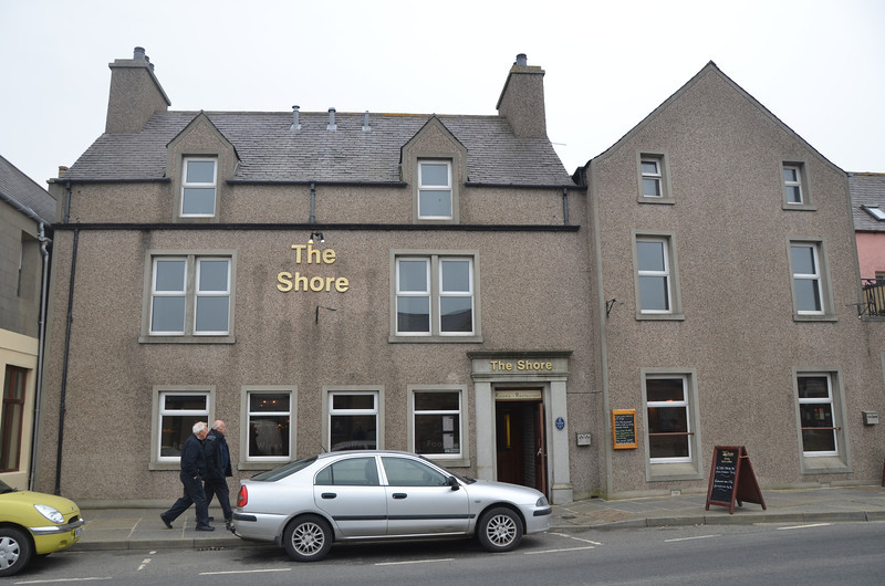 Two nights in The Shore in Kirkwall. Good hotel with great beer and friendly bar staff